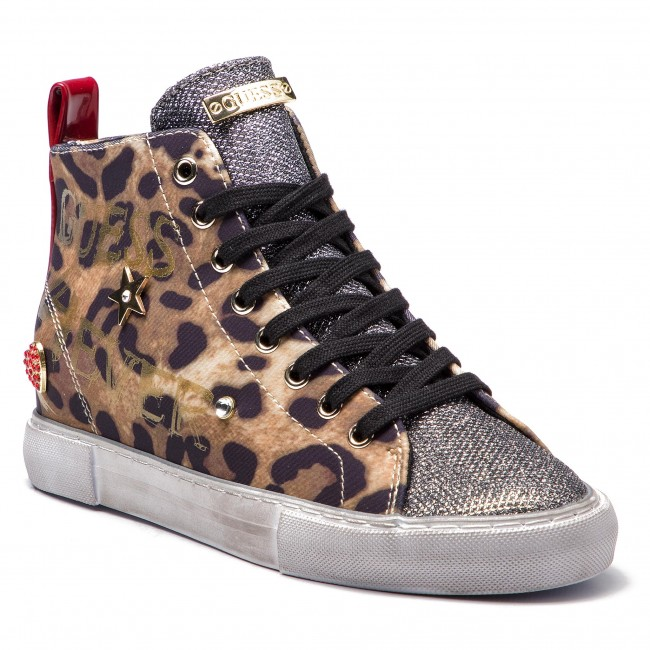 Sneakers Low GUESS - FLPYE4 FAP12 LEOPA - Sneakers - Low Sneakers shoes - Women's shoes 22f7af