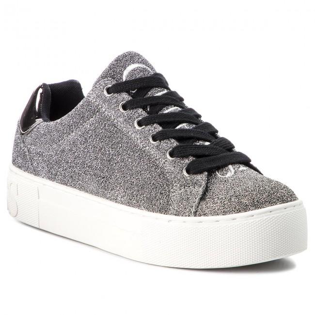 Sneakers GUESS - - FLMEA4 FAM12 SILVE - GUESS Sneakers - Low shoes - Women's shoes 8f7625