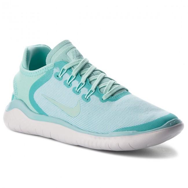 Shoes NIKE - Free Rn 2018 Sun AH5208 300 Island - Green/Igloo/Vast Grey - Indoor - Island Running shoes - Sports shoes - Women's shoes c76d06