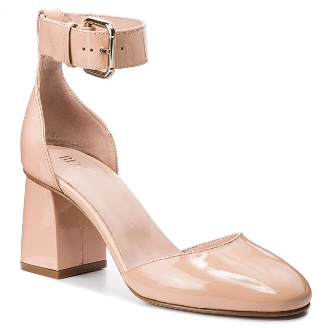 Shoes RED VALENTINO - Heels QQ0S0998 Nude N17 - Heels - - Low shoes - Women's shoes ad5ae4