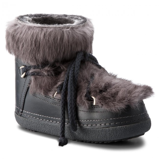 Shoes INUIKII - Boot Winter Rabbit 70101-11 Grey - Winter Boot boots - High boots and others - Women's shoes 8909a7