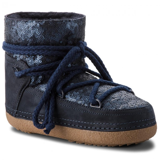 Shoes INUIKII - Boot 70101-9 boots Sequin D'Blue - Winter boots 70101-9 - High boots and others - Women's shoes 044ca6