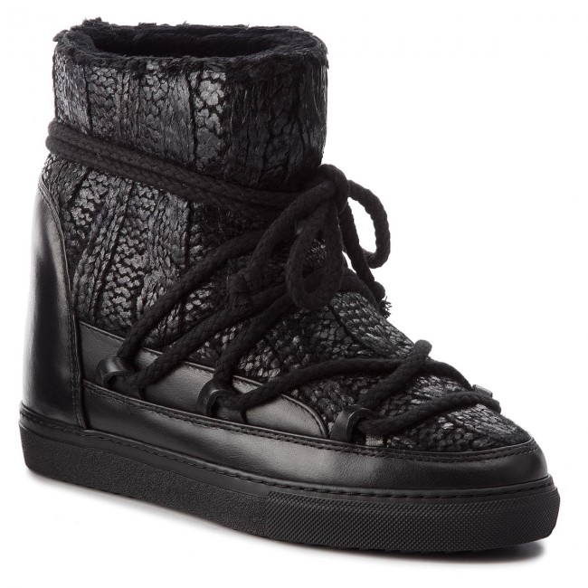 Shoes INUIKII - Sneaker Galway 70203-8 Black - Winter boots others - High boots and others boots - Women's shoes 1603fe