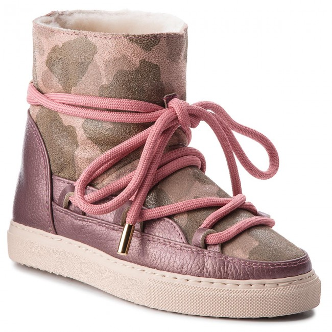 Shoes INUIKII - Sneaker 70202-17 Camouflage - Met/ Old Pink  - Camouflage Winter boots - High boots and others - Women's shoes b92e1f