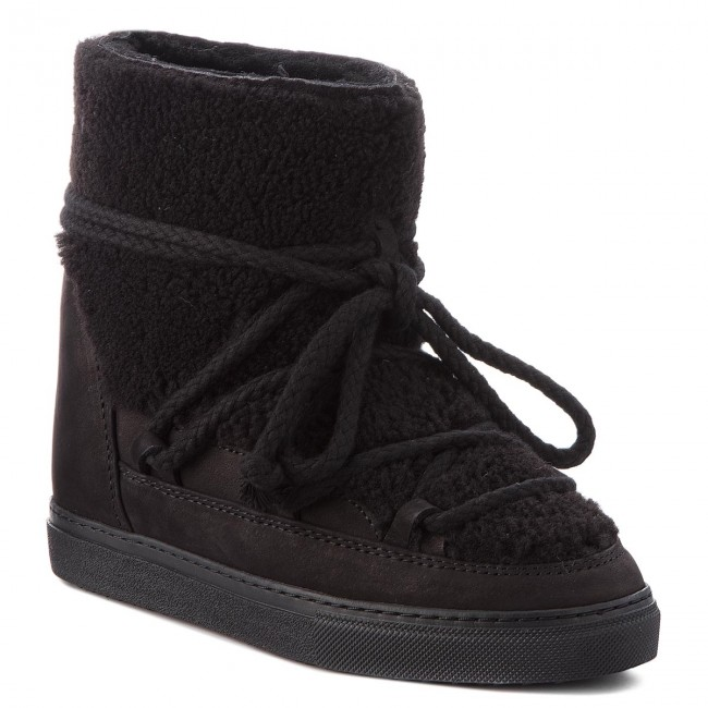 Shoes INUIKII - Sneaker Curly 70203-16-W Black/Blk Cot.Lac High - Winter boots - High Cot.Lac boots and others - Women's shoes abc01c
