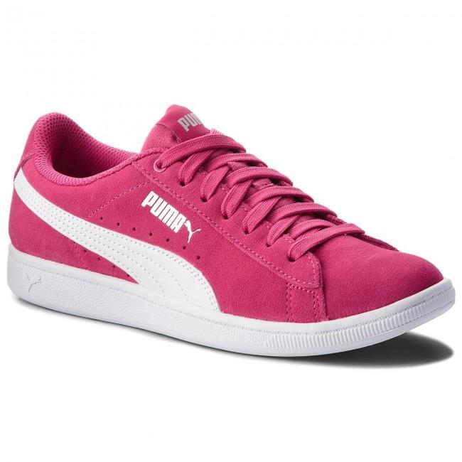 baskets puma vikky jr 366711 bas 01 betteraves Violet puma blanc tennis bas 366711 chaussures chaussures femmes 6f4438