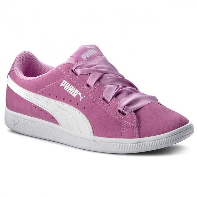 Sneakers PUMA - Vikky Orchid/Puma Ribbon Jr 367639 02 Orchid/Puma Vikky White - Sneakers - Low shoes - Women's shoes ef070e