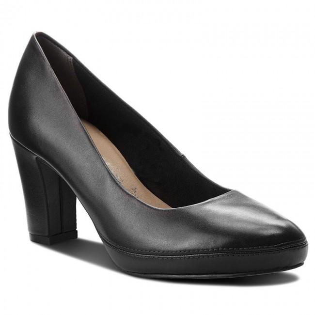 Shoes TAMARIS - 1-22413-21 Black 001 shoes - Heels - Low shoes 001 - Women's shoes 620b56