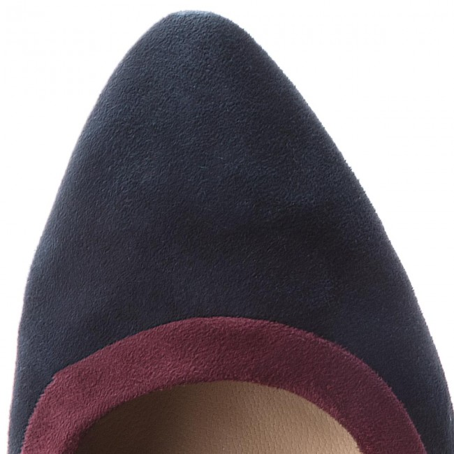 03a0b21a39e2f Shoes TAMARIS - - - 1-22419-21 Navy Merlot 849 - Heels - Low shoes ...