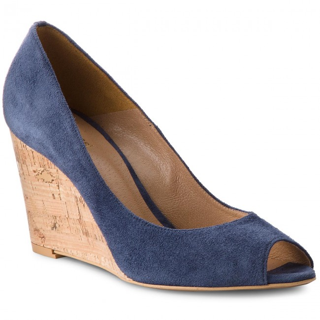 Shoes GINO 59 ROSSI - Olivia DCF695-W40-0020-5700-0 59 GINO - Wedge-heeled shoes - Low shoes - Women's shoes 18529a