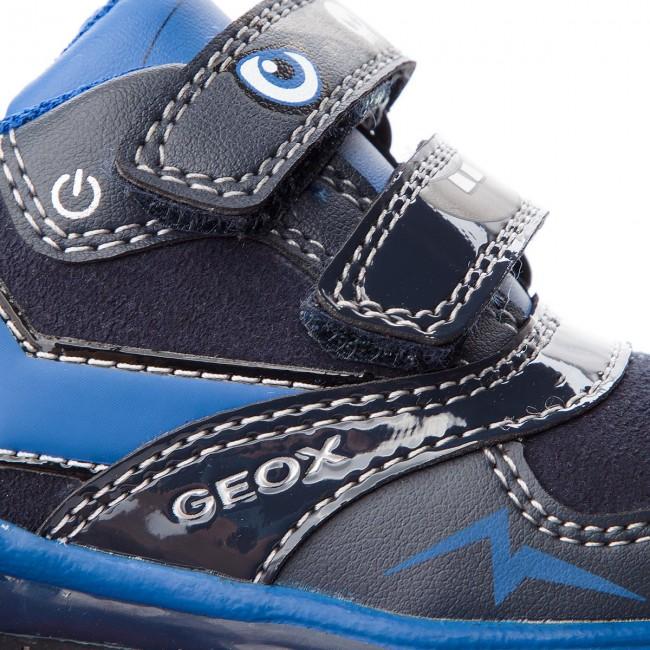 Shoes GEOX - B Todo B. B. B. A B8484A 0AU54 C4184 Dk Navy/Royal - Velcro - Low shoes - Boy - Kids' shoes a314f2