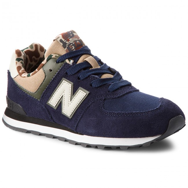 Sneakers NEW BALANCE - GC574HN Navy Blue - Sneakers Women's - Low shoes - Women's Sneakers shoes 2bcd02