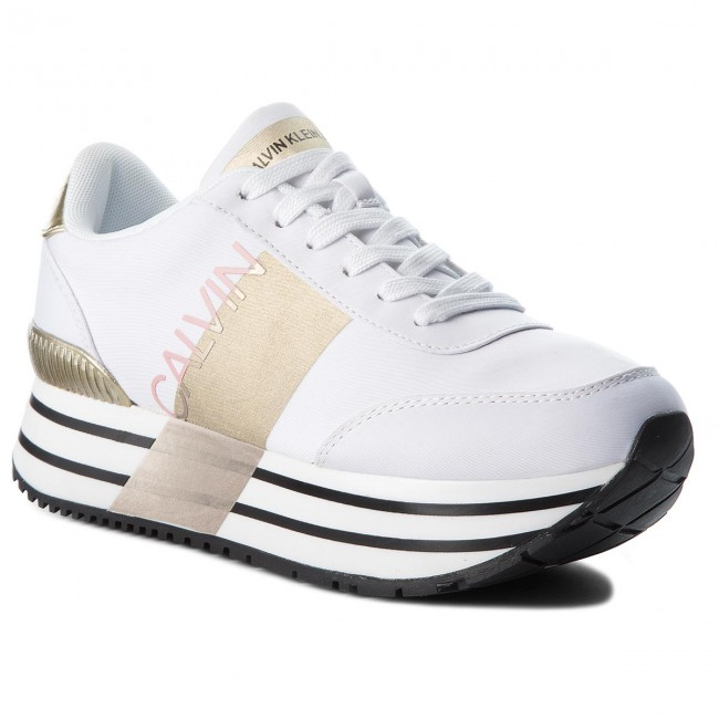 Sneakers CALVIN KLEIN JEANS shoes Coretta RE9807 White