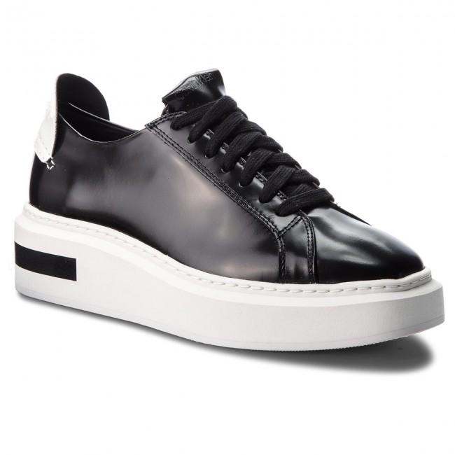 Sneakers CALVIN KLEIN White - Tesir E7508 Black/Platinum White KLEIN - Sneakers - Low shoes - Women's shoes f6f853