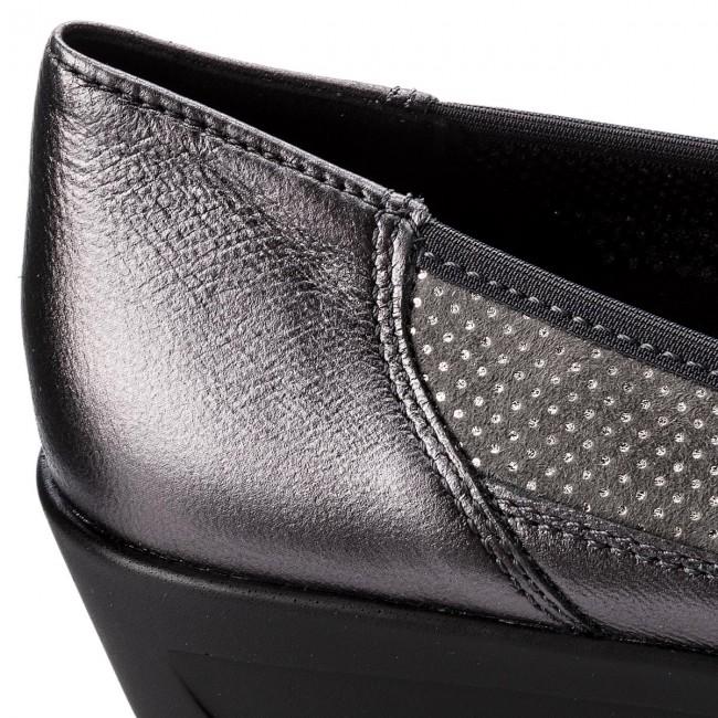 Shoes ARA - 12-40641-24 Iron/Titan - - - Wedge-heeled shoes - Low shoes - Women's shoes 99deef