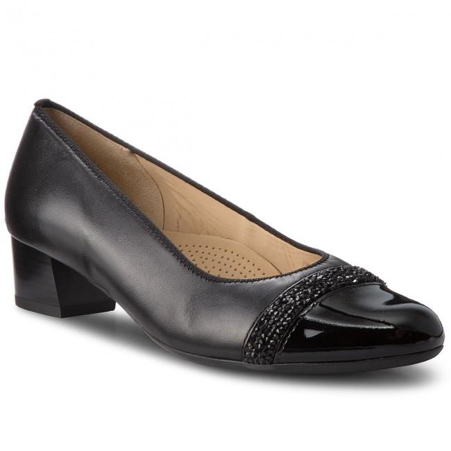 Shoes ARA - 12-45819-01 Schwarz - - Heels - Low shoes - - Women's shoes 4c43b0