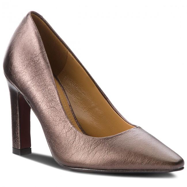 Shoes SOLO - FEMME - 84601-01-I29/000-05-00 Brąz - SOLO Heels - Low shoes - Women's shoes d51773