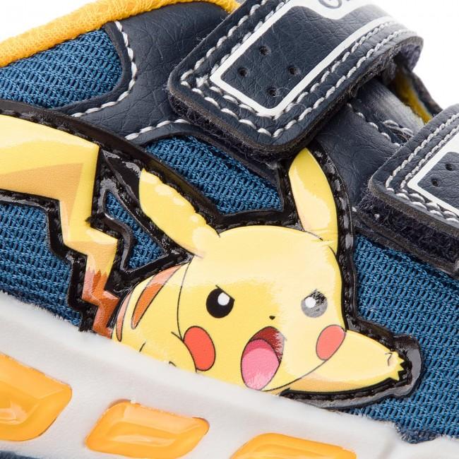 Shoes GEOX - J Shuttle B. C J8294C 014BU 014BU 014BU C4054 M Navy/Yellow - Velcro - Low shoes - Boy - Kids' shoes 36d2df