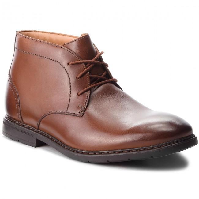 Boots CLARKS - Banbury Leather Mid 26135425 British Tan Leather Banbury - Boots - High boots and others - Men's shoes 6aeedd