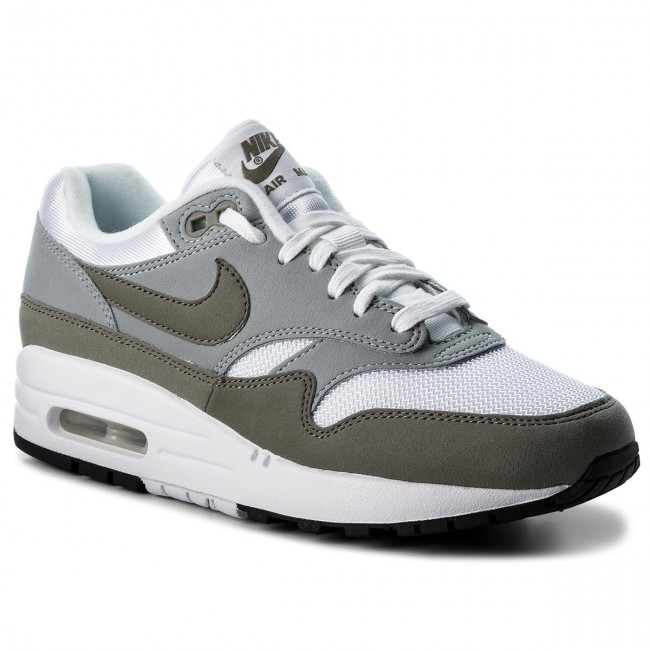 Shoes NIKE - Air Max 1 319986 105   White/Dark Stucci/Light Pumice  105 - Sneakers - Low shoes - Women's shoes 6a5cb2
