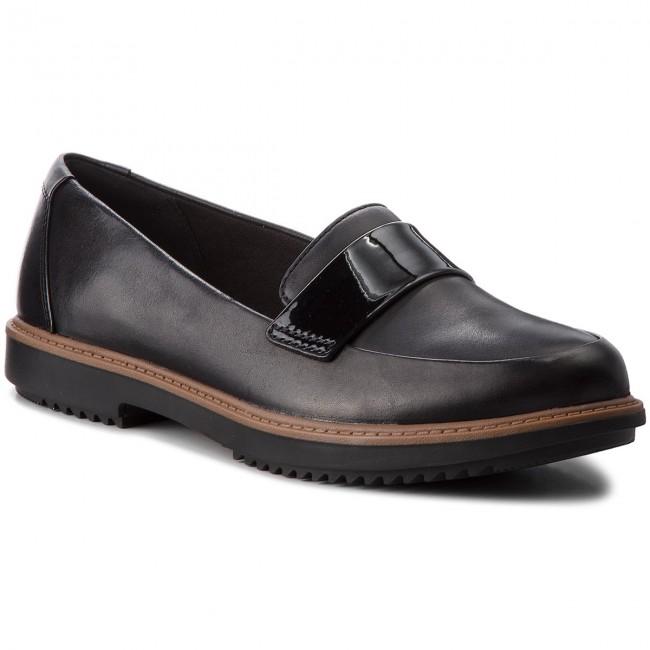 more photos 9ac2c 5da92 Shoes CLARKS - Raisie Arlie 261363414 Black - Flats - - - Low shoes -  Women s shoes f6403e