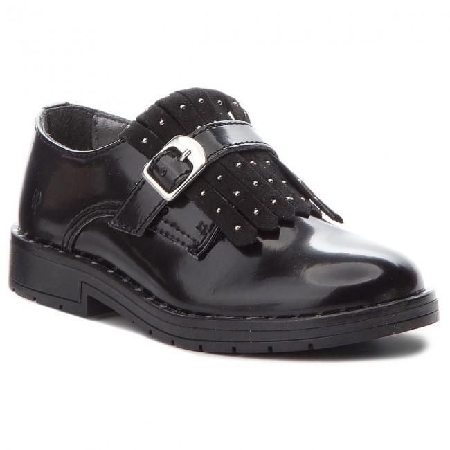 Bon rapport qualité prix < < < oxfords primigi - 2440211 m néron - slided chaussures - bas chaussures - fille - chaussures des enfants 106cd6