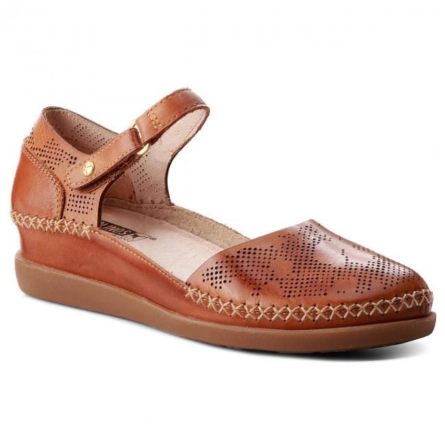 Shoes PIKOLINOS Wedge-heeled - W8K-0548 Brandy - Wedge-heeled PIKOLINOS shoes - Low shoes - Women's shoes 789afa