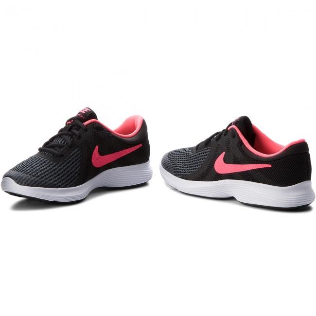 Shoes NIKE - Revolution Noir/Blanc/Rose 4 (GS) 943306 004 Noir/Blanc/Rose Revolution Coureur - Indoor - Running shoes - Sports shoes - Women's shoes c29b0b