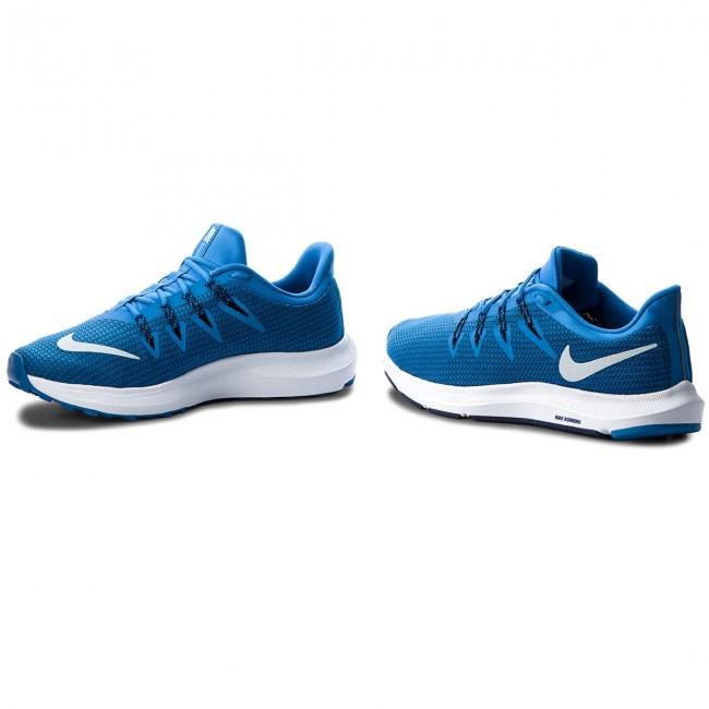 Shoes NIKE NIKE NIKE - Quest AA7403 401 Cobalt Blaze/Light Bone - Indoor - Running shoes - Sports shoes - Men's shoes abc1ac