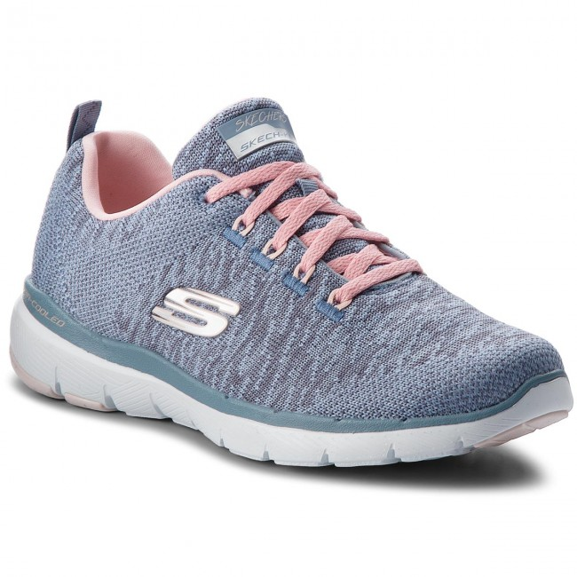 Shoes SKECHERS - Flex Appeal 3.0 - 13062/SLTP Slate/Pink - Fitness - 3.0 Sports shoes - Women's shoes eaae4c