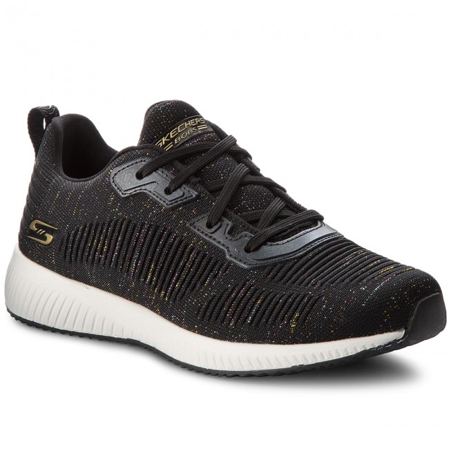 Shoes SKECHERS Glam - BOBS SPORT Total Glam SKECHERS 32502/BKMT Black/Multi - Fitness - Sports shoes - Women's shoes 3963da