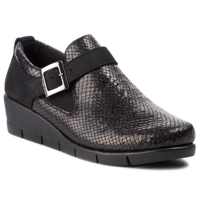 Shoes THE FLEXX - - Pan Cake B235/56 Black - - Wedge-heeled shoes - Low shoes - Women's shoes 03d621
