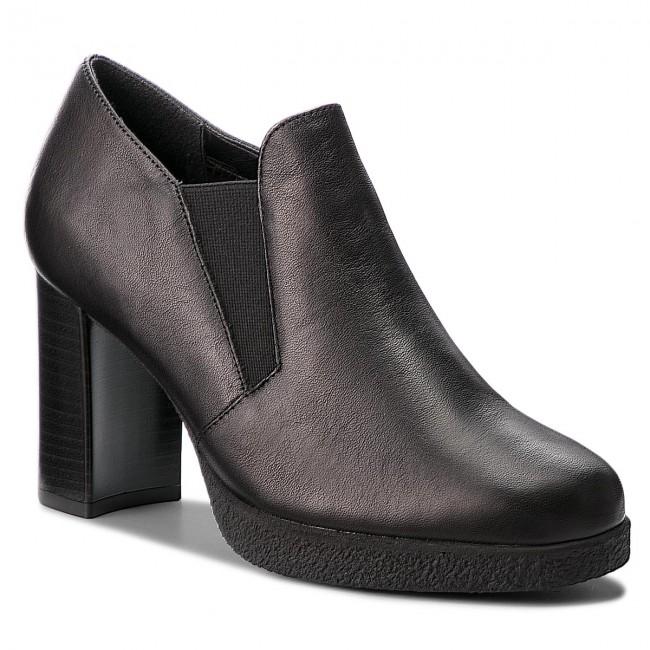 Shoes THE FLEXX - Gandalph D7012/02 Black shoes - Heels - Low shoes Black - Women's shoes c20847