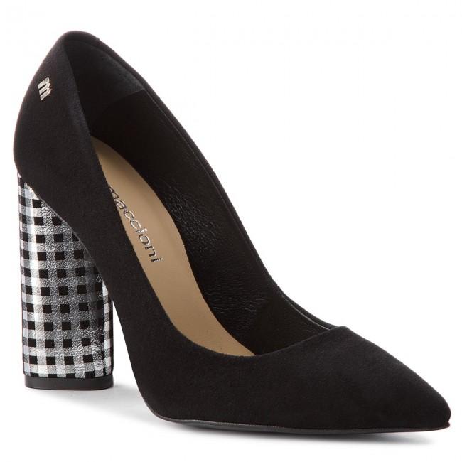 Shoes MACCIONI - 594.121174.9185 Low Black - Heels - Low 594.121174.9185 shoes - Women's shoes 6600b3