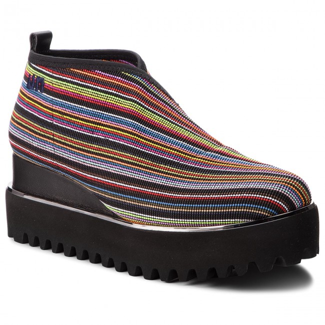 Shoes UNITED NUDE - Fold Casual 102633205 Bright Mix - shoes Wedge-heeled shoes - Low shoes - - Women's shoes 7d140f