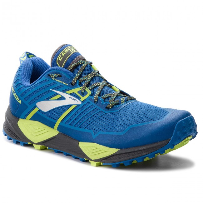 Shoes BROOKS - - BROOKS Cascadia 13 110285 1D 405 Blue/Black/Lime - Outdoor - Running shoes - Sports shoes - Men's shoes 24632c