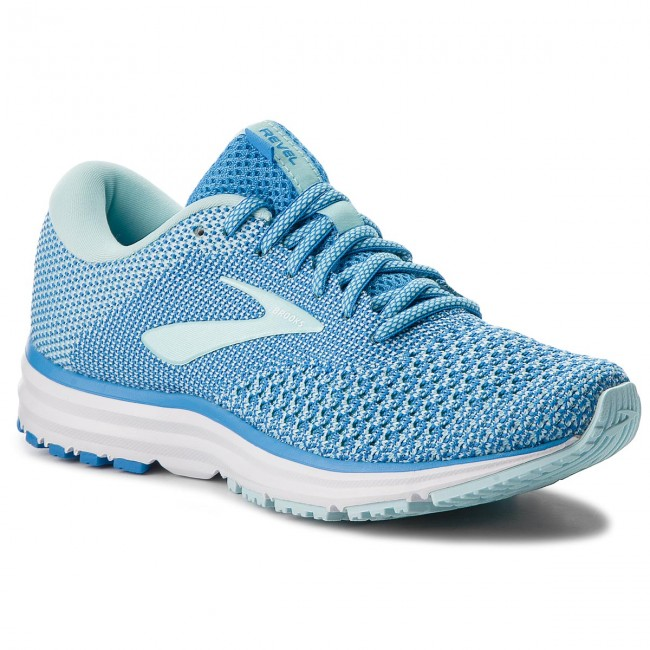 Shoes BROOKS - Revel 2 120281 1B - 406 Blue/Island/White - Indoor - 1B Running shoes - Sports shoes - Women's shoes ef9cf4