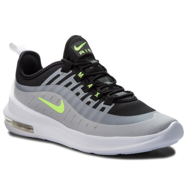 Shoes NIKE - Air Max Axis (GS) AH5222 Sneakers 005 Black/Volt/Wolf Grey - Sneakers AH5222 - Low shoes - Women's shoes 318373