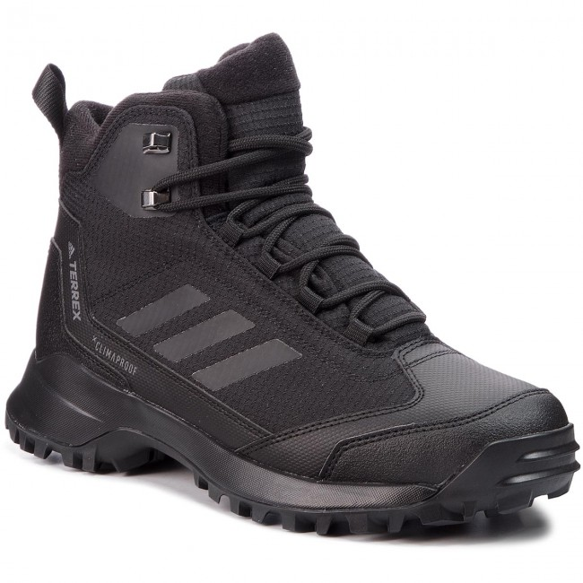 Shoes Shoes Shoes adidas - Terrex Heron Mid Cw Cp AC7841 Cblack/Cblack/Grefou - Trekker boots - High boots and others - Men's shoes 561562