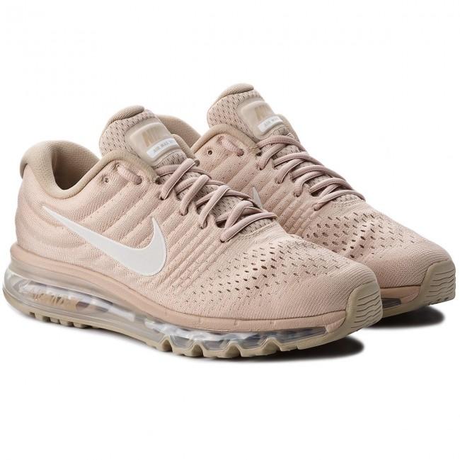 ... chaussures nike - air max 2017 849559 201 sand   tennis Noir khaki -  indoor - b7bcc167974e
