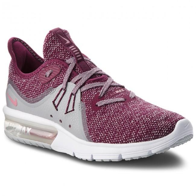 Shoes NIKE - Air Max Sequent 3 908993 606 Bordeaux/Elemental Running Pink - Indoor - Running Bordeaux/Elemental shoes - Sports shoes - Women's shoes da2177
