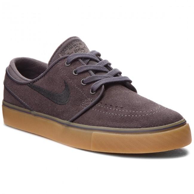 Shoes NIKE - Stefan Janoski (GS) 525104 017 Thunder Grey/Black shoes - Sneakers - Low shoes Grey/Black - Women's shoes ea5476