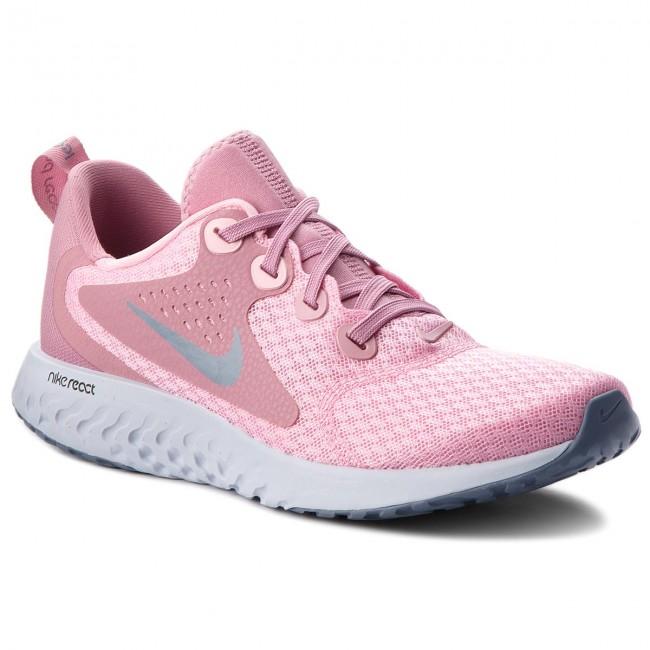 Shoes NIKE - Legend Pink/Ashen React (GS) AH9437 600 Pink/Ashen Legend Slate - Indoor - Running shoes - Sports shoes - Women's shoes 1d02db