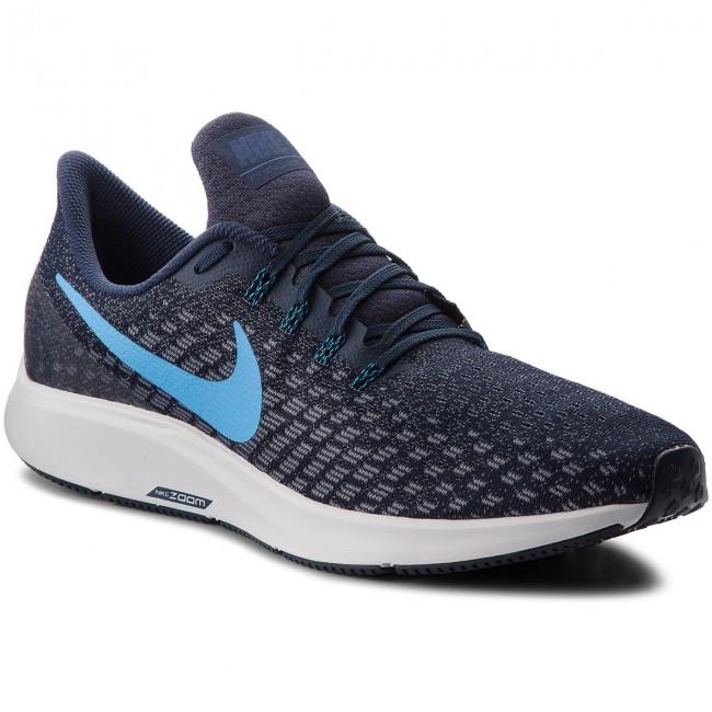 new concept 15712 267ef chaussures nike - air air air zoom pegasus 35 942851 401 de l obsidienne    Bleu héros   gunsmoke - indoor - tennis - chaussures de sport - chaussures  pour ...