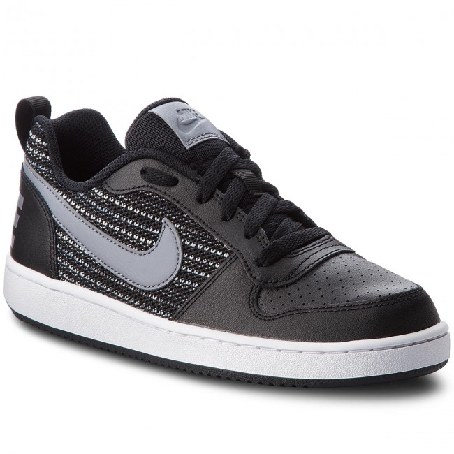 Shoes NIKE - Court Borough Borough Borough Low Se (GS) AA2902 002 Black/Cool Grey/Anthracite - Sneakers - Low shoes - Women's shoes 0f9318