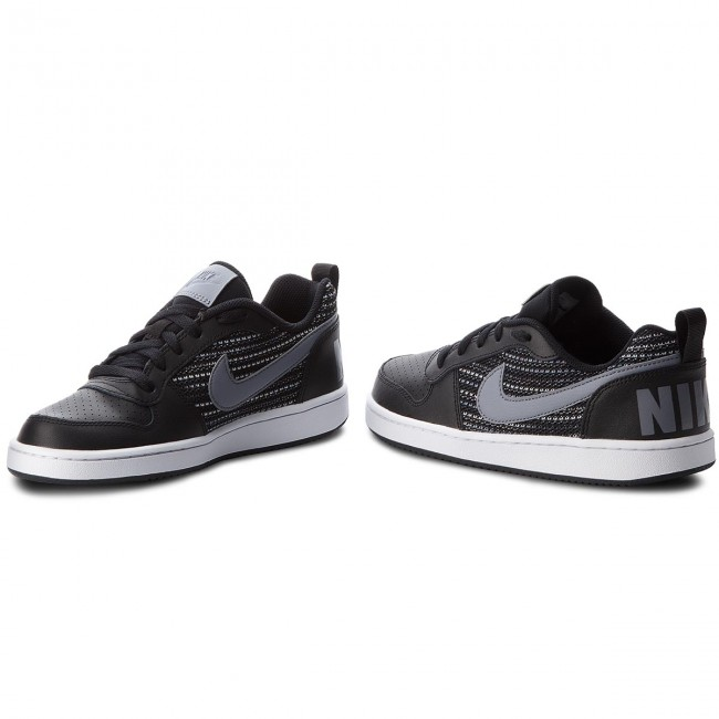 Shoes NIKE - Court Borough Borough Borough Low Se (GS) AA2902 002 Black/Cool Grey/Anthracite - Sneakers - Low shoes - Women's shoes c7dc35