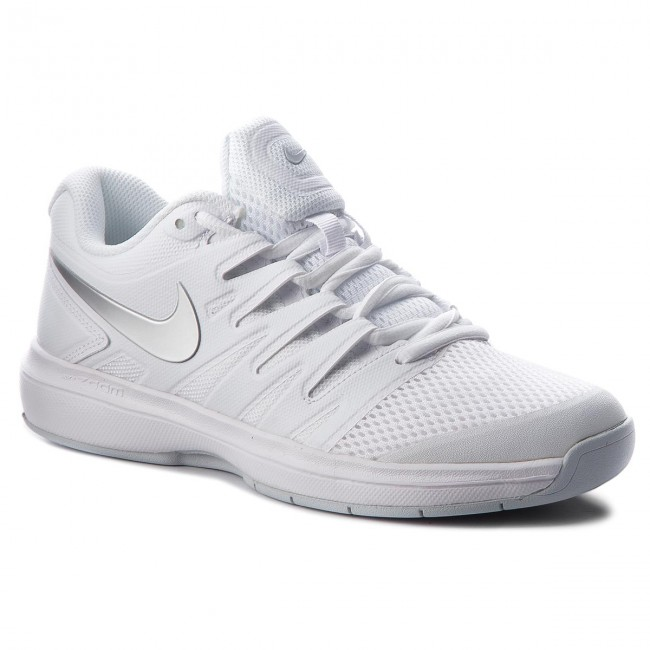 Shoes NIKE - Air 100 Zoom Prestige Cpt AA8026 100 Air White/Metallic Silver  - Fitness - Sports shoes - Women's shoes aeb437