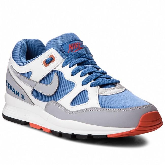 Shoes NIKE AH6800 - Air Span II AH6800 NIKE 400 Mountain Blue/Wolf Grey - Sneakers - Low shoes - Women's shoes fb21fd