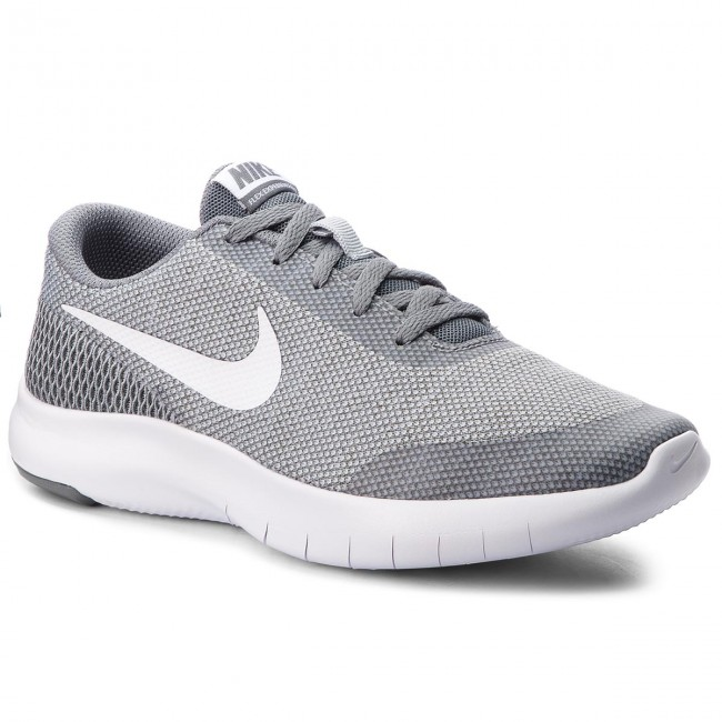 Shoes NIKE 7 - Flex Experience Rn 7 NIKE (GS) 943284 003 Wolf Grey/White/Cool Grey - Indoor - Running shoes - Sports shoes - Women's shoes 5b7b63