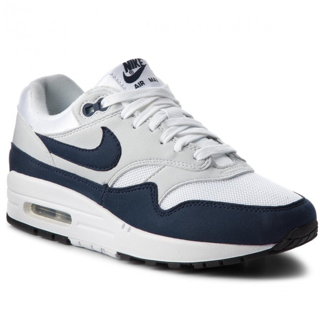 Shoes 1 NIKE - Air Max 1 Shoes 319986 104 White/Obsidian/Pure Platinum - Sneakers - Low shoes - Women's shoes cdb314
